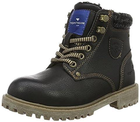 Tom Tailor Kids Mädchen 1672107 Kurzschaft Stiefel, Schwarz (Black), 37 EU