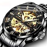 Watch Men's Watches Fashion Casual Design Waterproof Quartz Analog Calendar Stainless Steel Wrist