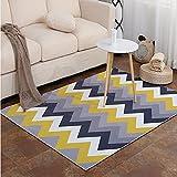 MAFYU Qualität Teppich 3D Druck Teppich Wohnzimmer Teetisch Schlafzimmer Bett für einen rutschfesten Teppich 120 * 160cm