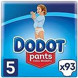 Dodot Pants - Pañales Braguitas, fácil de cambiar con canales de aire, talla 5 (12-17 kg), total de 93