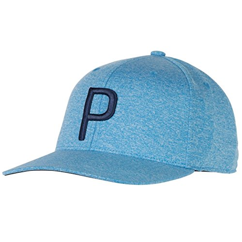 Puma Golf Herren Feuchtigkeit Wicking Snapback Cap - Electric Blau Lemonade