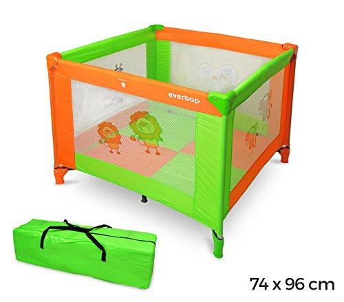 170953 Parque de juego infantil con colchon 74x96x96 cm
