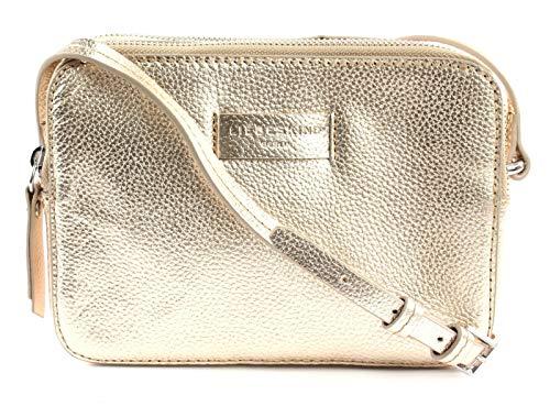 Liebeskind Berlin Damen Essential Camera Bag Small Umhängetasche, Gold (Moonlight), 7x14x20 cm