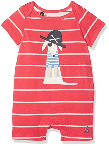 Tom Joule Joules Baby-Jungen Spieler Patch, Rot (Melon Red Stripe Mredstp), - Toms Kleidung