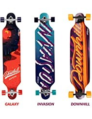 Physionics – Longboard / Tabla larga ( aprox. 107/25/12 cm) – diseño Invasion