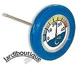 Thermometer Pool rund schwimmend Form Schwimmsitz Durchmesser 18