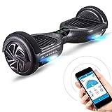 """6.5"""" Premium Hoverboard Bluewheel HX310s - Deutsche Qualitäts Marke - Kinder Sicherheitsmodus & App - Bluetooth Lautsprecher - Starker Dual Motor - LED - Elektro Skateboard Self Balance Scooter"""