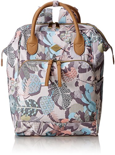 Oilily Oilily Backpack, Portés dos Weiß (Oyster White)