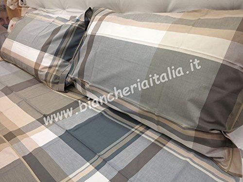 Bettlaken 7165Flax Doppelbett–ohne Bettlaken