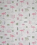Badvorleger Aquamat Antirutsch Matte, Bad Garten Küche, Flamingo, Größe wählbar (100 x 65 cm)