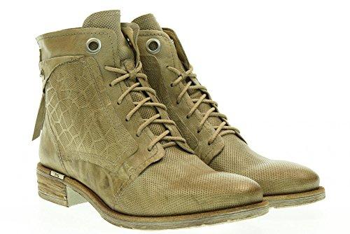 Nero Giardini Chaussures Femmes Bottes Basses Avec Des Lacets P717162d / 439 Beige