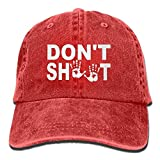 Hipiyoled Cowboy Hat Cap for Men Women Don't Shoot Hands 212038
