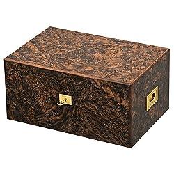 Davidoff Humidor für Zigarren, Holz, Zigarre, Cigar Box Zubehör Radica Noce
