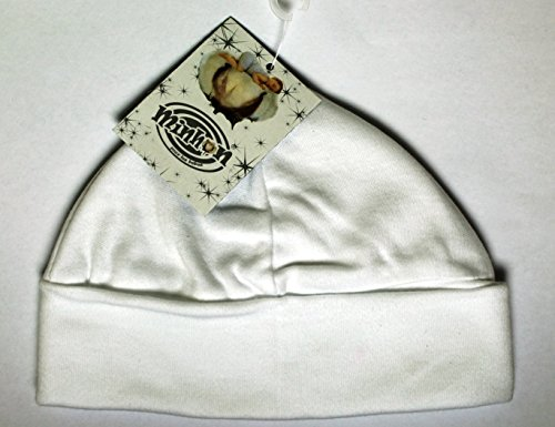 Cappello per bambini, Idea regalo per nascita, da 0 a 3 mesi, colore: Bianco