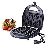 XuanYue Sandwich Toaster Panini Maker Piastre tostapane 3 in 1 Waffles Piastra tostiera con piastra antiaderente Plate