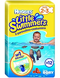 HUGGIES Little Swimmers T2-3 X12