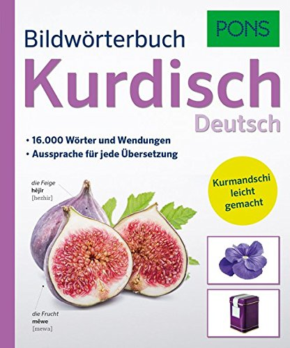 PONS Bildwörterbuch Kurdisch:  Mit 16.000 Wörter und Wendungen. Kurmandschi leicht gemacht. (Für Halloween Einkaufen)