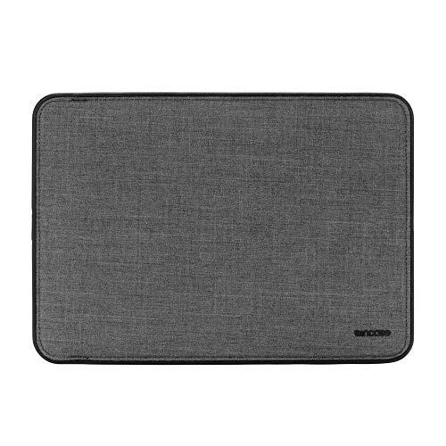 Incase Icon Sleeve Schutzhülle Apple MacBook Pro 13' (2016 - 2018) / Air 13,3' (Late 2018) - grau [Woolenex-Material I TENSAERLITE-Bumper I Kunstfell-Interieur I Magnetverschluss] INMB100366-ASP