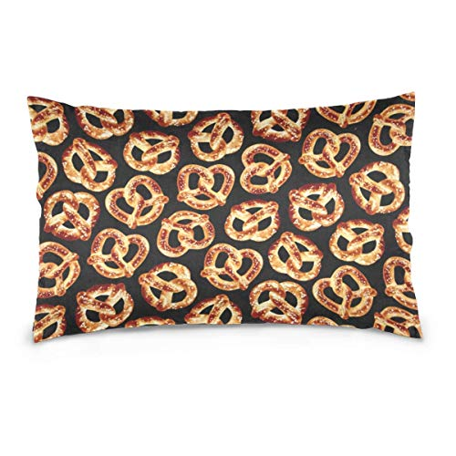 Throw Kissenbezug Dog Bitten Baseball Washable Removable Pillow Cover for Home & Hotel Collection Size 20 x 30 Inch Pillow sham