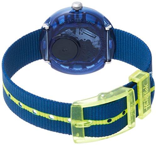 Flik Flak Mädchen Analog Quarz Uhr mit Stoff Armband FPNP023 - 2