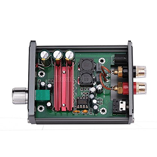 51kCsWQv9GL. SS500  - Nobsound 100W Subwoofer Digital Power Amplifier Audio Mini Amp with power supply (Black)