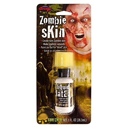 Preisvergleich Produktbild Fancy Dress Fake Zombie Skin Liquid Latex Maskeneffekt