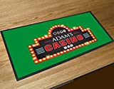 Personalizzato casino tappetino bar bar runner Counter Mat