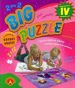 Big puzzle IV do kolorowania 2x12