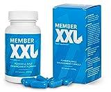 MEMBER XXL Premium, Potenza farmaci & Ingrandimento del pene + 9cm, Potenza e l'erezione di aiuto per tutti gli uomini, Pacchetto base capsule 1x60/1x650 mg