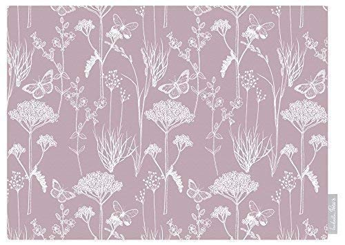 Izabela Peters Designer Wasserdicht Garten Outdoor Tischdecke - Inby Field - Fairy Glen Kollektion Entworfen Bedruckt & Handgefertigt in UK (Auswahl Längen) - Paris Rose (Glen Rose)