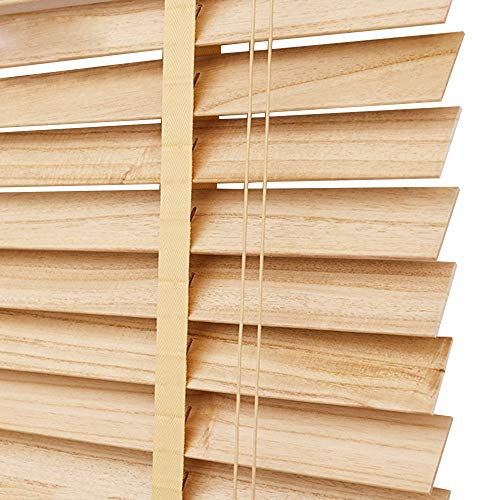 WENZHE Estores De Bambú Venecianas Persianas Estor Enrollable De Madera Quitasol Puede Levantar Regulable Adecuado para Casa Oficina, Tamaño Personalizable (Color : 50mm, Tamaño : 135x250cm)