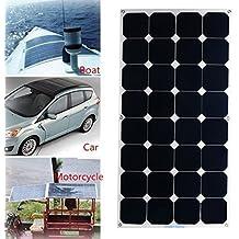 Panel Solar 100W 18V MOHOO? SUNPOWER semi-flexible panel fotovoltaico de alta eficiencia 22% de transformaci¨®n IP67 MC4 protecci¨®n Con Sea