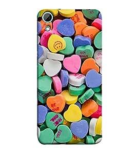 Fuson sweet talk ask me be mine Designer Back Case Cover forHTC Desire 828 Dual Sim-P-1324