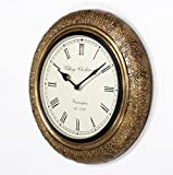 D'Dass 12 Brass Antique wall clock