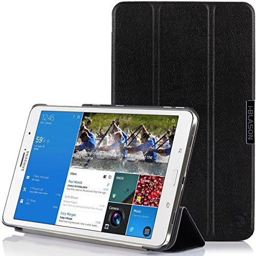 Marc i-Blason Galaxy Tab Pro 8.4 Case - i-Folio Slim Hard Shell Stand Case Cover for SM-T320/325 [Life Time Warranty] (Black)