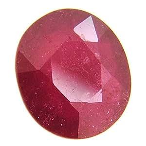 Brishh Jems Sougandhik Manik Stone 7.25 Ratti Certified Burma Ruby