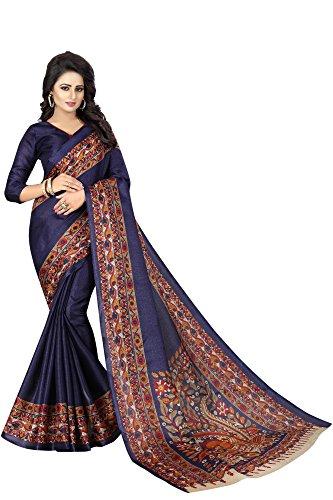 Regent-e Fashion Women\'s Cotton silk Saree With Blouse Piece