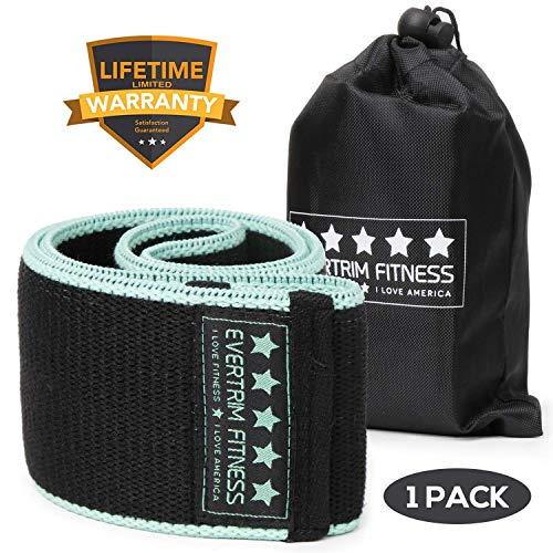 Widerstandsbänder für Beine und Pool, Übungsbänder für Booty Bands Hip Bands Breites Workout Bands Sport Fitness Bands Stretch Resistance Loops Band Anti-Rutsch Elastisch, schwarz/blau -