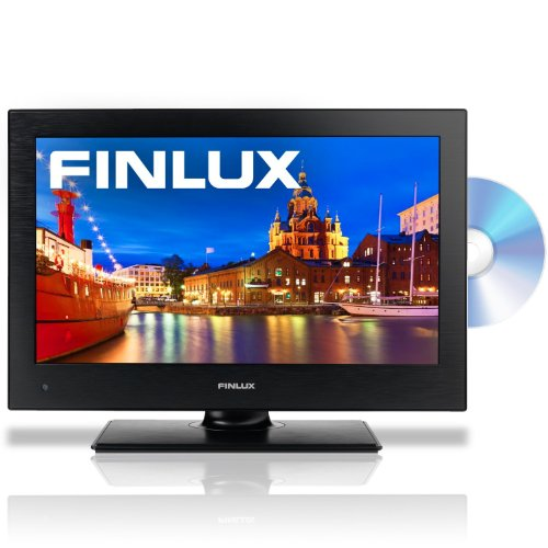 Finlux 19H6030-D 19-Inch Widescreen HD Ready LED Multi-Region DVD Combi TV with Freeview - Black
