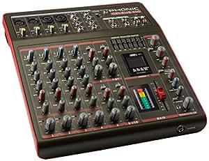 Phonic Celeus 400 Mixeur Analogique avec Enregistreur USB et Bluetooth