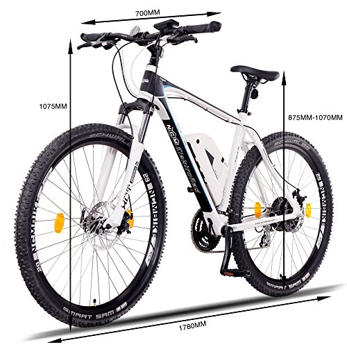 NCM Prague E-Bike Mountainbike 250W 36V Bild 2*