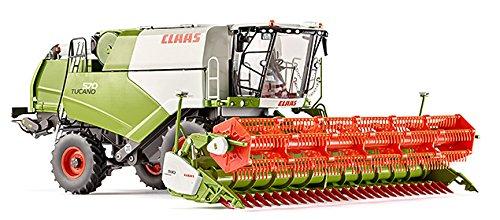 Wiking 7817 Claas Tucano 570 Mähdrescher Getreidevorsatz V930 Fahrzeug