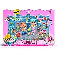 Pinypon Sirenitas pack grande de 6 figuras (Famosa 700013480)