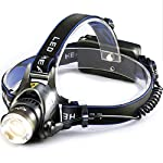 KawKaw LED Headlamp Rechargeable and Extra Bright 800 Lumens (Waterproof, Battery is Extra Strong and can be Used as Head Lamp, Bicycle Helmet Lamp, Running Lamp for Jogging and Running)
