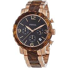 Fossil JR1385 - Reloj cronógrafo de cuarzo para mujer