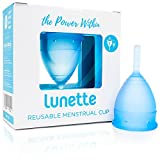 Lunette coupe menstruelle - Bleue - Taille 1 (EN Version)