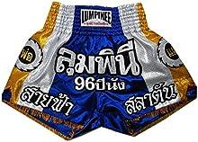 lum-001pantalones cortos Lumpinee Muay Thai, Kick Boxing, K1, boxeo tailandés, MMA, K-1, boxeo, boxeo troncos