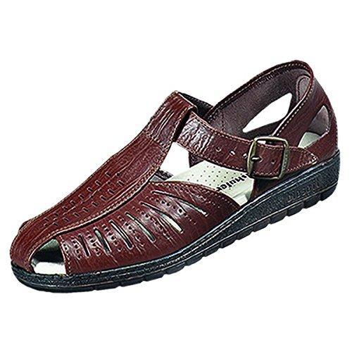 Autres 661025 sandale pour homme Marron - Espresso