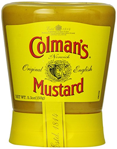 Colman's Mustard, 5.3 Ounce (Pack of 6) -