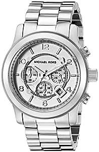 Micheal Kors Herren-Armbanduhr Analog Quarz Edelstahl MK8086